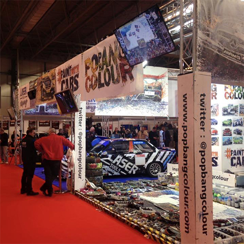 Truss Exhibition Stand Hire NEC Birmingham
