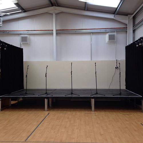 Stage deck Hire Oxfordshire
