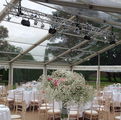 Wedding Lighting Hire Oxfordshire